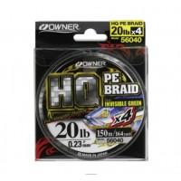 Owner Pintas valas HQ PE Braid 0,12mm