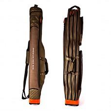 Iron Wolf dėklas meškerėms su ritėmis, trijų skyrių 150 cm lengvas